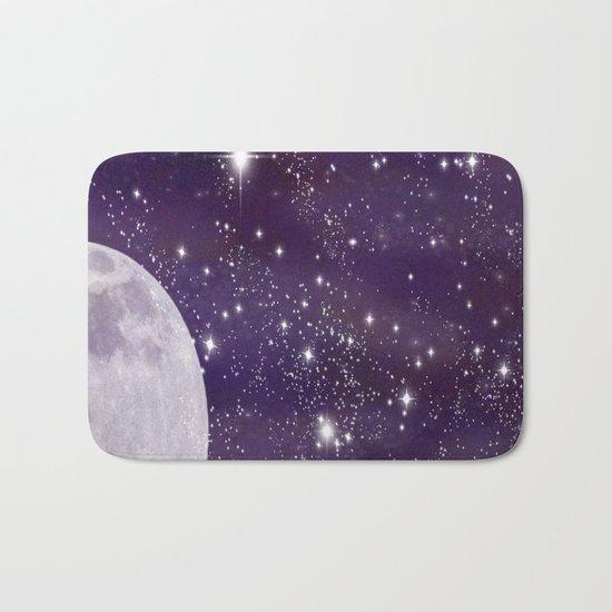 Cosmic Moon  Bath Mat