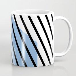 home sweet home on blue Coffee Mug