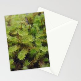 Green moss Stationery Cards
