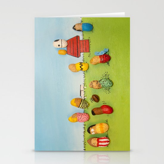 Real Peanuts Stationery Cards
