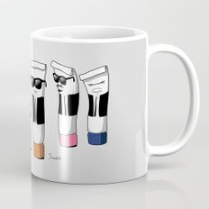 Reservoir Colours (with blood and light colored t-shirts) Mug