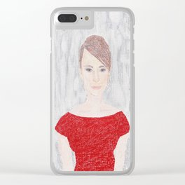 First Lady Clear iPhone Case