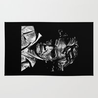 beethoven Area & Throw Rugs featuring Beethoven by G_Stevenson