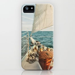 Open Ocean Sailing iPhone Case