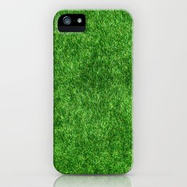 Green Grass Background iPhone Case