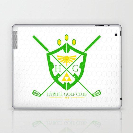 Hyrule Golf Laptop & iPad Skin