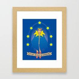 Star Road Warrior Geno Framed Art Print