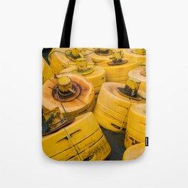 Yellow gathering Tote Bag