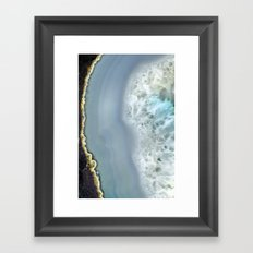 Blue Agate II Framed Art Print