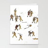 fight Stationery Cards featuring Fight! by Joe Lillington