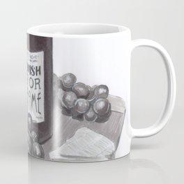 Wine & Cheese Coffee Mug