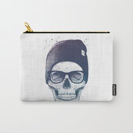Color skull in a hat Carry-All Pouch