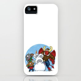 When Hell Freezes Over iPhone Case