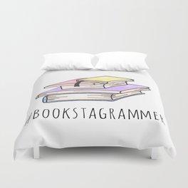 Bookstagrammer Duvet Cover