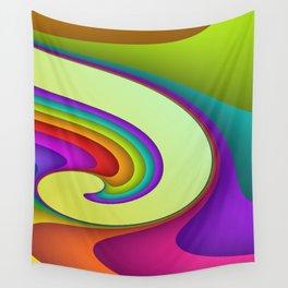 fluid -15- Wall Tapestry