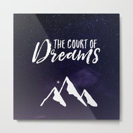 The Court of Dreams - ACOMAF Metal Print