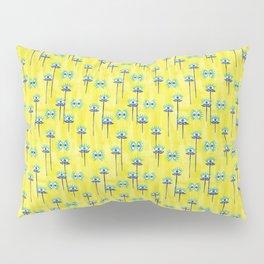 Evil Eye Nazar protective Garden Yellow Pillow Sham