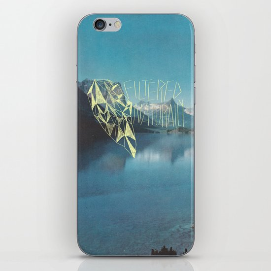 FILTERED NATURALLY iPhone & iPod Skin