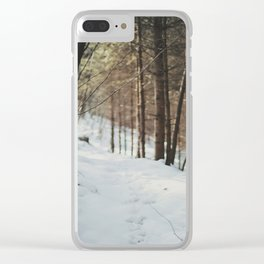 Attersee (4) Clear iPhone Case