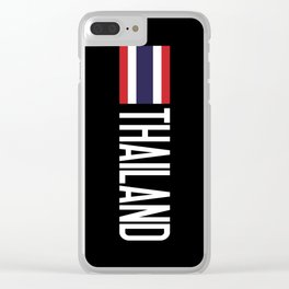 Thailand: Thai Flag & Thailand Clear iPhone Case