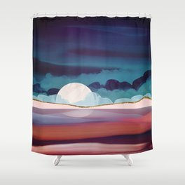 Red Sea Shower Curtain