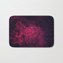 The Flaming Star Nebula Bath Mat