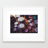 drums Framed Art Prints featuring drums by jered scott