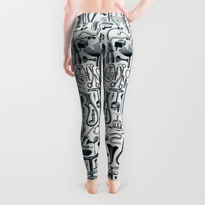 Medical Condition FADED DENIM / Vintage medical instruments, take two of these and call me in the mo Leggings
