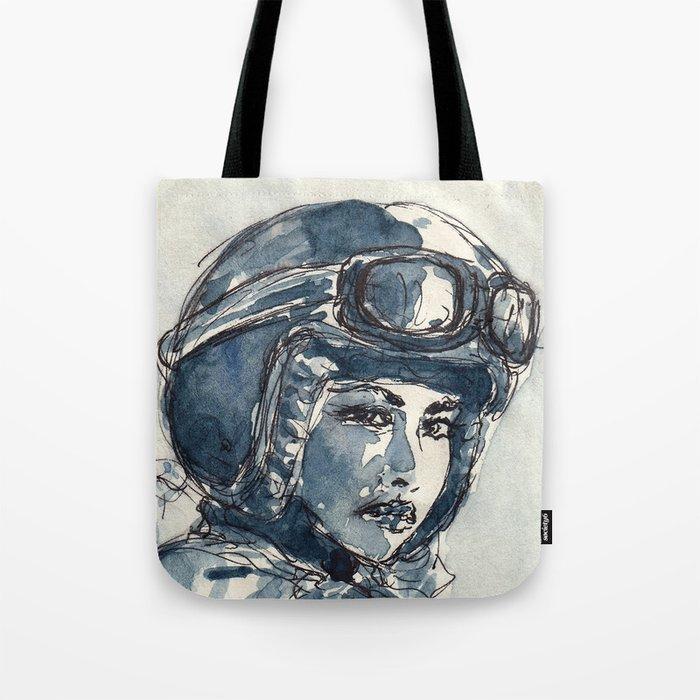 Lady Rider 170129 Tote Bag