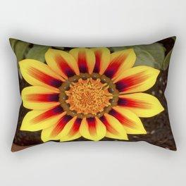 Gazania Flower Rectangular Pillow