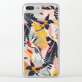 Paradise Birds II. Clear iPhone Case