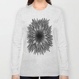 Pointillism Star Long Sleeve T-shirt