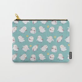 Baby Barn Owls Carry-All Pouch