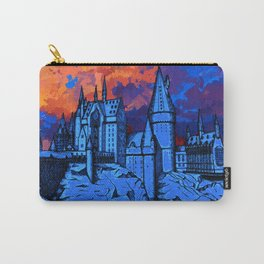 HOGWARTS CASTLE AT PAINTING Carry-All Pouch