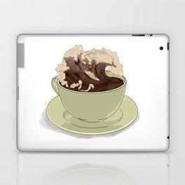 Mocha Surfer Laptop & iPad Skin