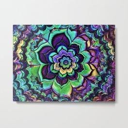 Multi-Colored Kaleidoscope Metal Print