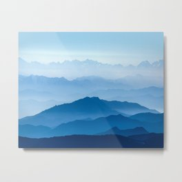 Blue Mountains Metal Print
