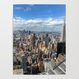 View from the Chrysler Building Poster