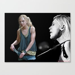 Balled of Beth The Walking Dead Canvas Print