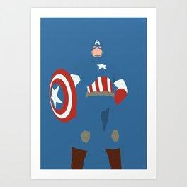 Steve Rogers Art Print