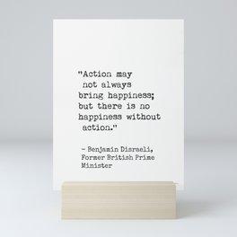 Benjamin Disraeli, Former British Prime Minister Mini Art Print