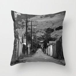 Cypress Park Alley Throw Pillow