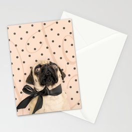Trés Chic Pug Stationery Cards