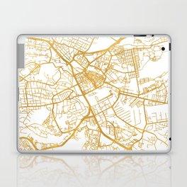 NAIROBI KENYA CITY STREET MAP ART Laptop & iPad Skin