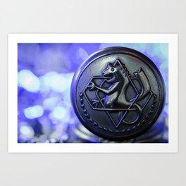 An Alchemist's watch III Art Print