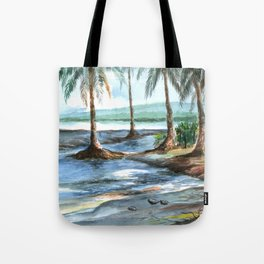 BEACH FLOW Tote Bag