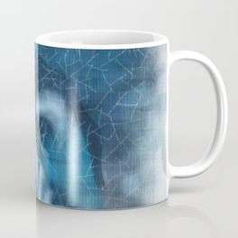 Blue Girl Tears Coffee Mug