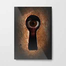 Who is watching you? Metal Print