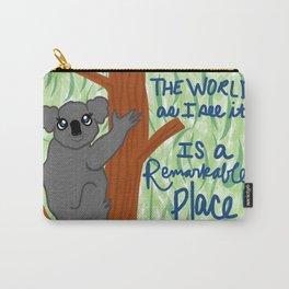 happy koala Carry-All Pouch
