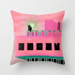 MOTÝLE NA CENTROTEXE Throw Pillow